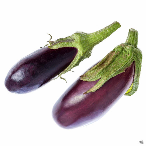 'Little Finger' Eggplant fruit