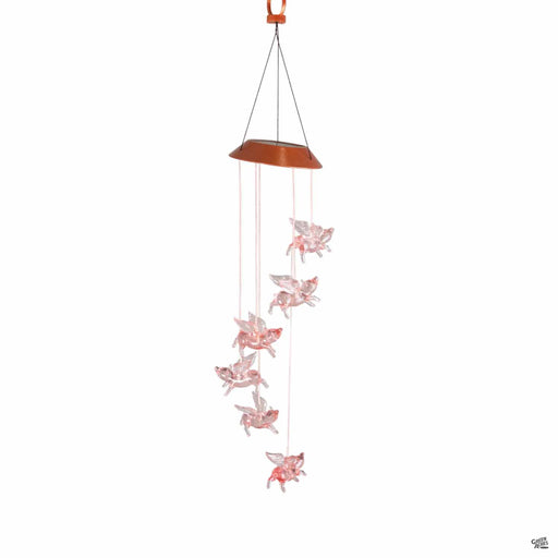 Mobile Flying Pig Solar Light
