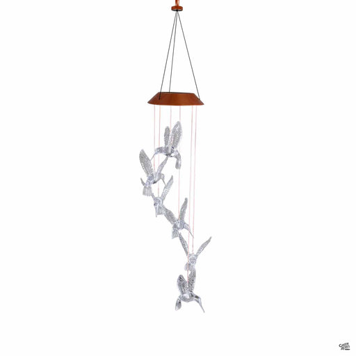 Mobile Hummingbird Solar Light