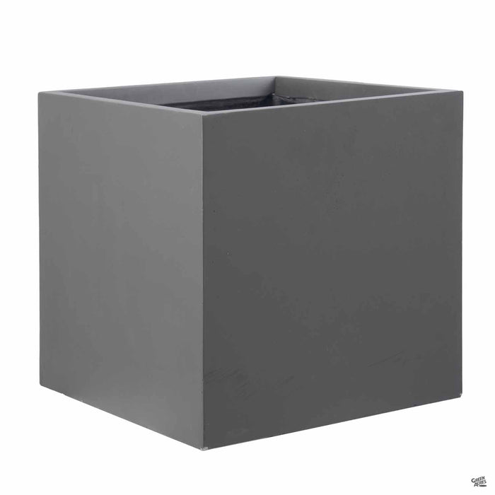 Origins Cube Fiber Clay Planter B 20 inch by 20 inch