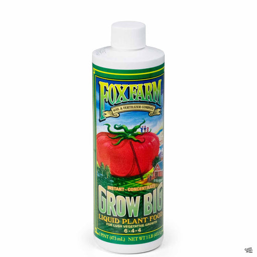 Grow Big Liquid Plant Food 16 ounce concentrate