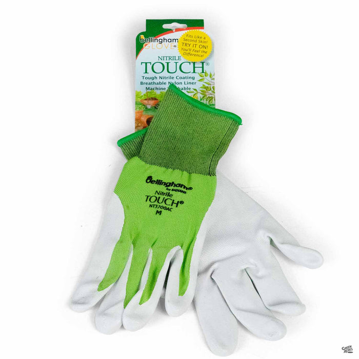 Bellingham Nitrile Touch Glove Green