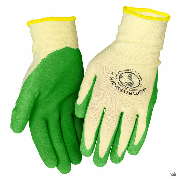 Women's Work Weeding Gloves Green