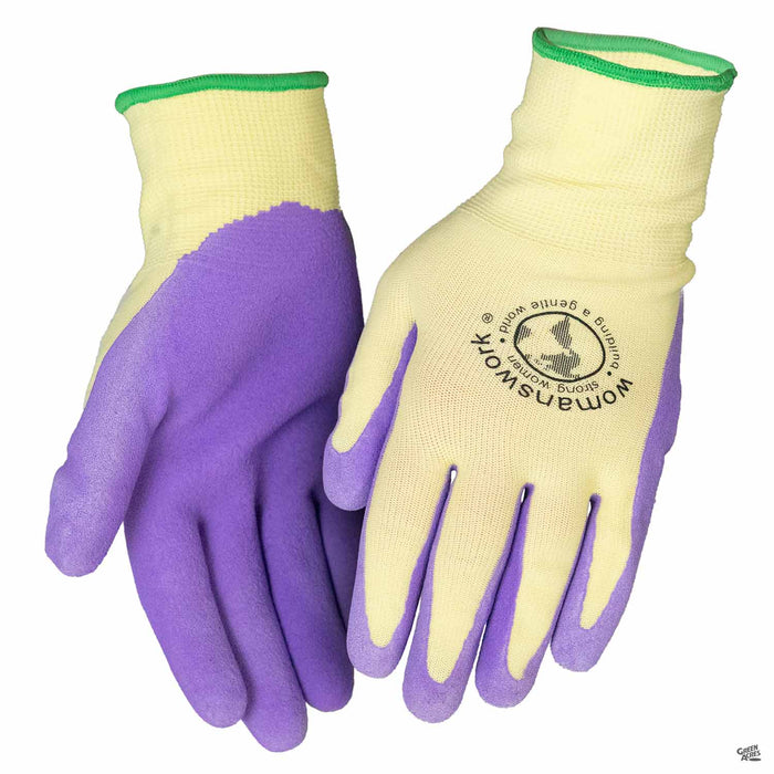 Women's Work Weeding Gloves Purple