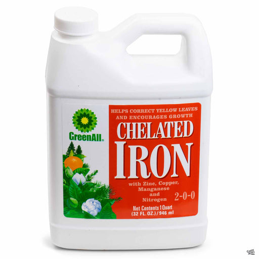 GreenAll Chelated Iron Quart Concentrate