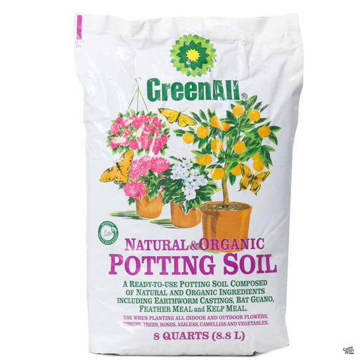 GreenAll Natural and Organic Potting Soil 8 qt