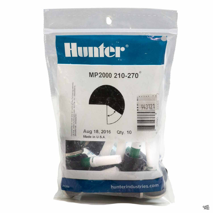 Hunter M P Rotators 2000 Series, 210 to 270 degrees, 10 pack
