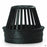 Atrium Grate 6 inch in Black