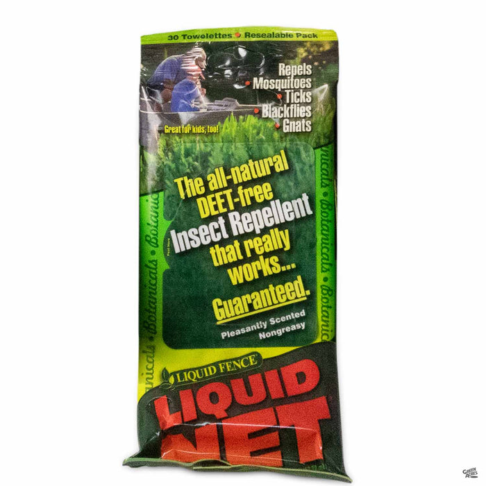 Liquid Fence Repellent Towelette 30- count