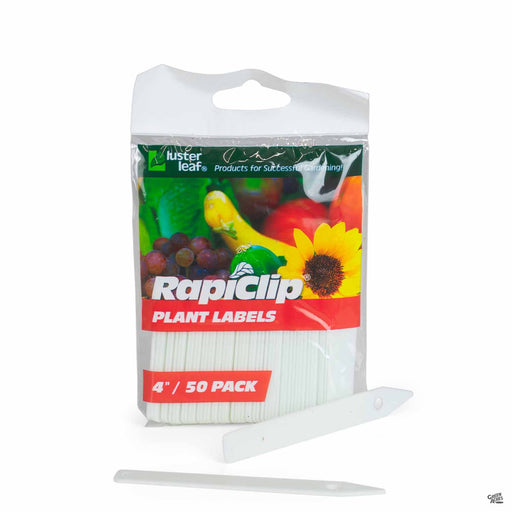 RapiClip Plant Labels 4 inch, 50 pack