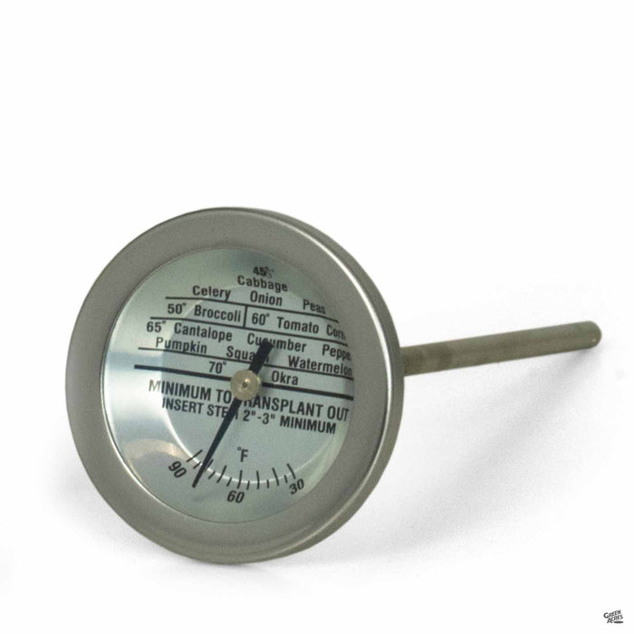 RapiClip Dial Soil Thermometer