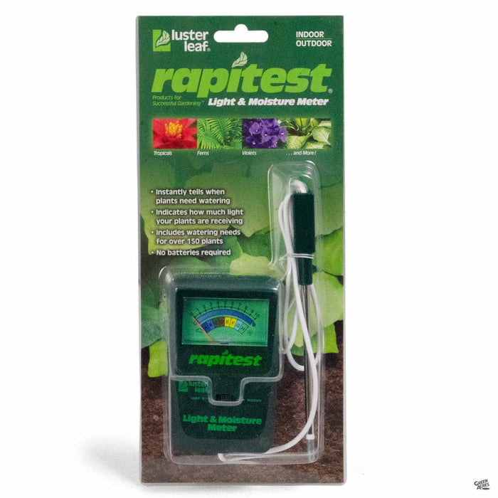 RapiTest Light and Moisture Meter