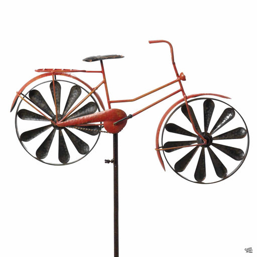 Red Bicycle Spinner by Marshall Home and Garden