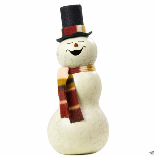 Meadowbrooke Gourds Blizzard 3-Tier Snowman