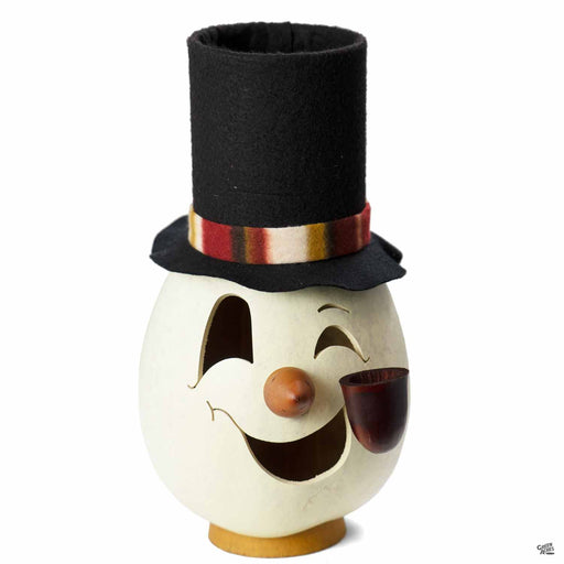 Meadowbrooke Gourds Clyde Snowman Head