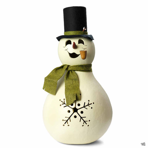 Meadowbrooke Gourds Snowman Large Lit