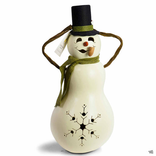 Meadowbrooke Gourds Snowman Medium Lit