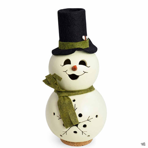 Meadowbrooke Gourds Snowman Miniature