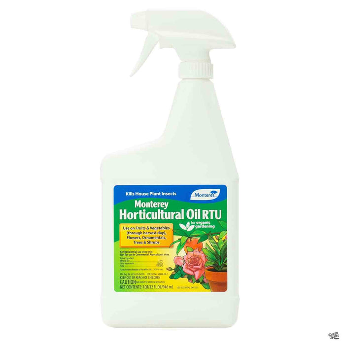 Monterey Horticultural Oil Quart Ready To Use