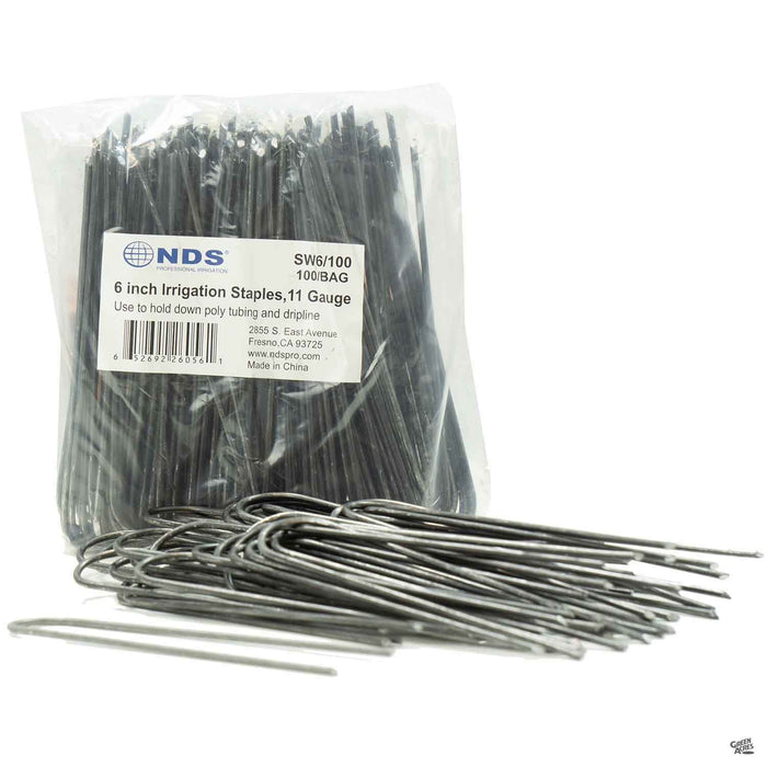 Ground, Fabric, or Irrigation Staples, Pack of 100