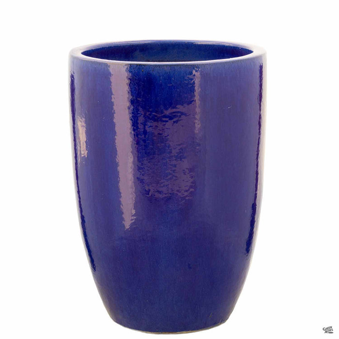 No Rim Planter in Blue