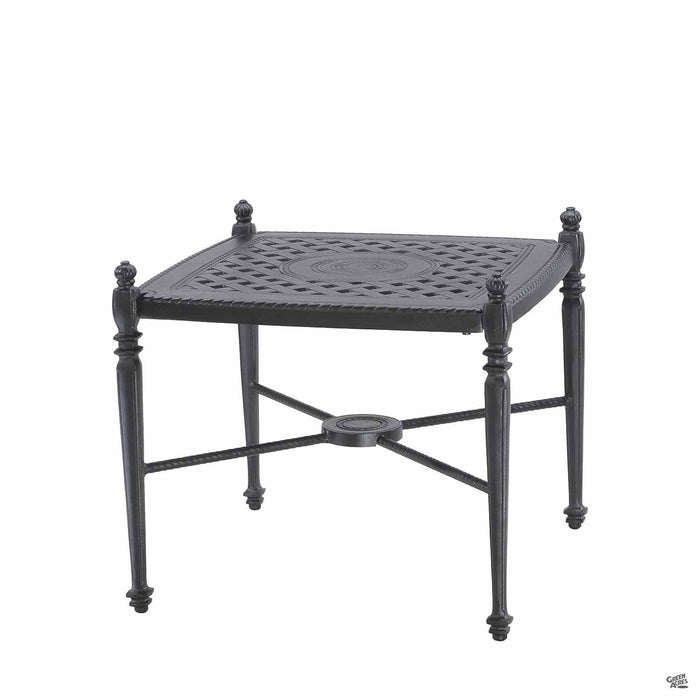 Gensun Bel Air Grand Terrace End Table 21 inch square