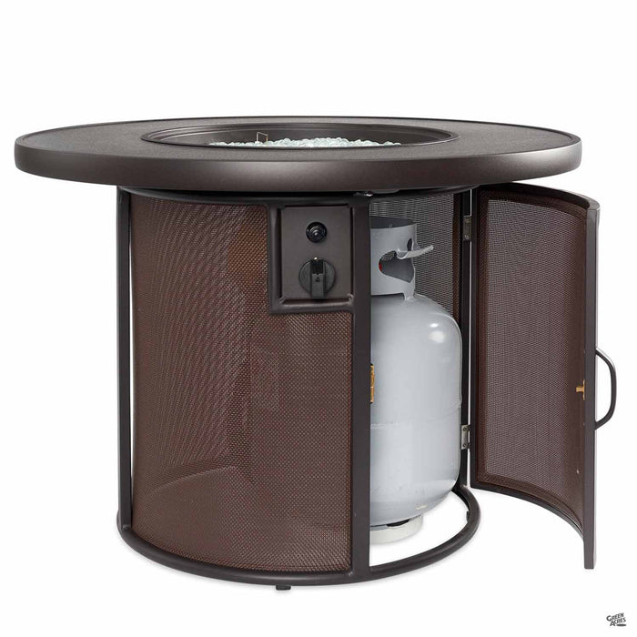 Stonefire Fire Pit Table with Propane Access Panel