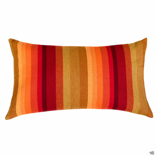 Lumbar Pillow in Astoria Sunset (Vertical Stripes)