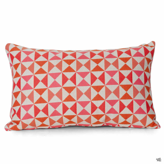 Lumbar Pillow in Array Sangria