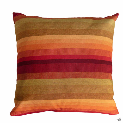 Pillow in Astoria Sunset (Horizontal Stripes)
