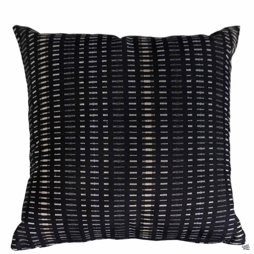Pillow in Esti Onyx (Vertical Stripes)