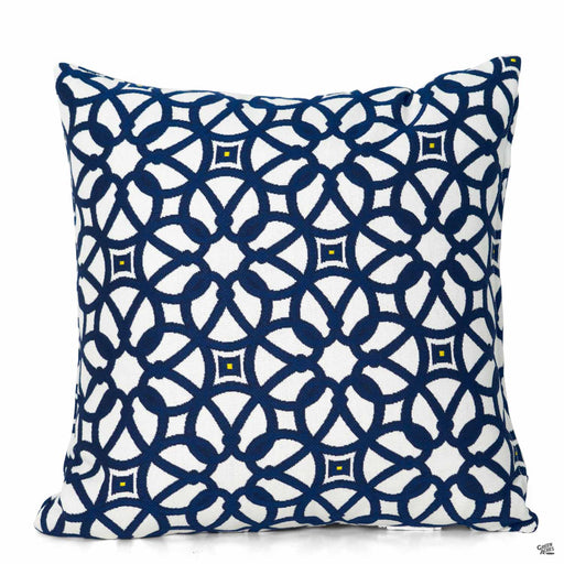 Pillow in Luxe Indigo