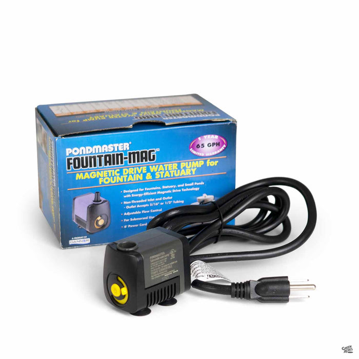 PondMaster Fountain-Mag Magnetic Drive Water Pump for Fountain and Statuary 65 GPH