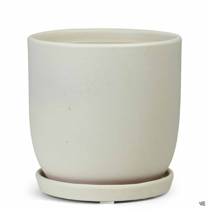 Chatham Egg Pots in Sandy White 7 inch