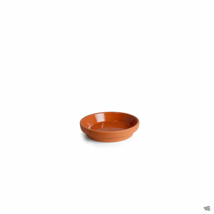 Terracotta German Clay Saucer 4.25 inch