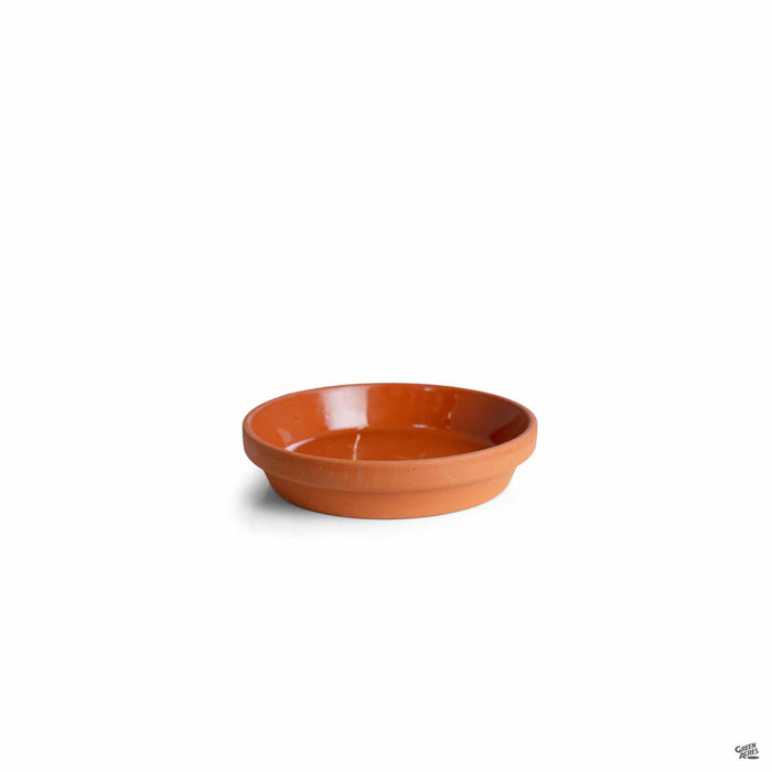 Terracotta German Clay Saucer 6 inch