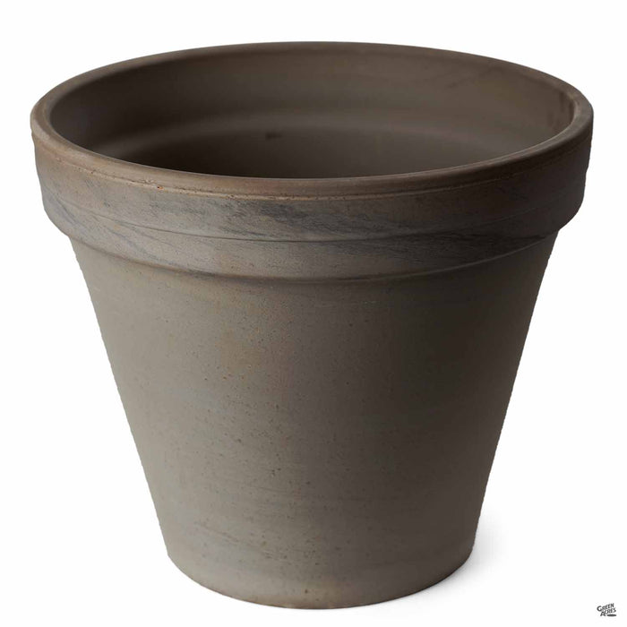 Chocolate Marbled German Clay Standard Pot 10.25 inch