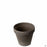 Chocolate Marbled German Clay Standard Pot 4.25 inch