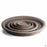 Chocolate Marbled German Clay Saucer All Sizes