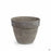 German Levante Pot Basalt Clay 8.25 inch