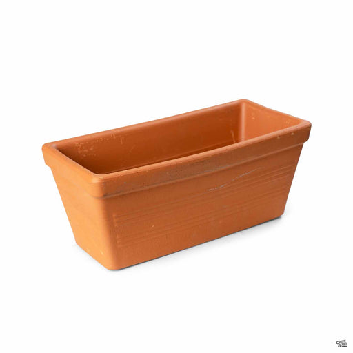 Terracotta Italian Lined Window Box 12 inch