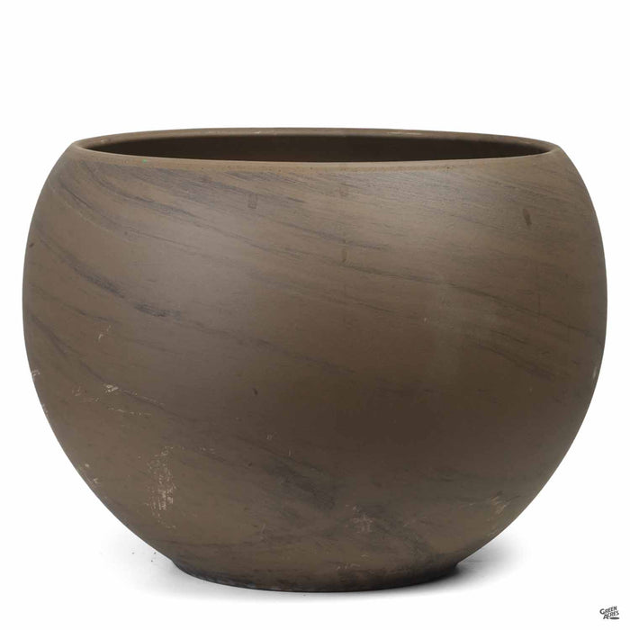 Luna Sphere Basalt Clay Pot 12.5 inch