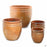 Decor Pot with Pattern - All 4 Sizes in Copper