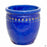 Decor Pot with Pattern - Size 4 in Blue