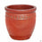 Decor Pot with Pattern - Size 4 in Red