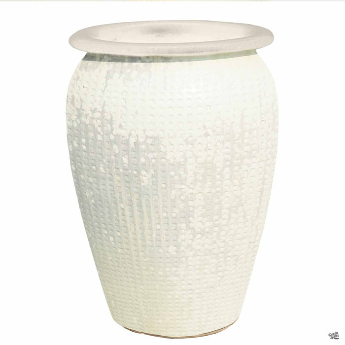 Manhattan Jar Pottery Size 2 in White