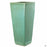 Medium Slim Square Pottery Green