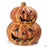 Ceramic Pumpkin 14 inch wide by 18 inch tall