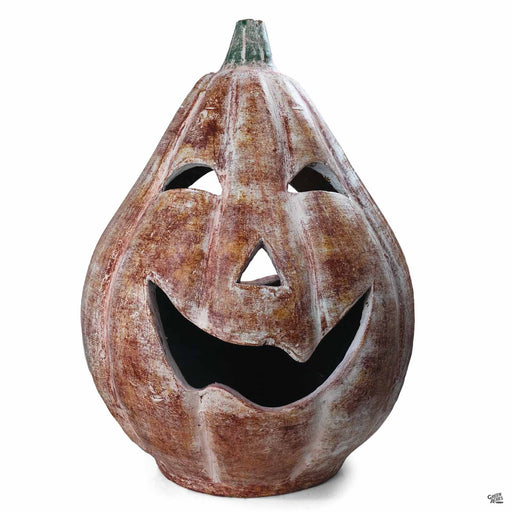 Ceramic Pumpkin 16 inch wide by 25 inch tall
