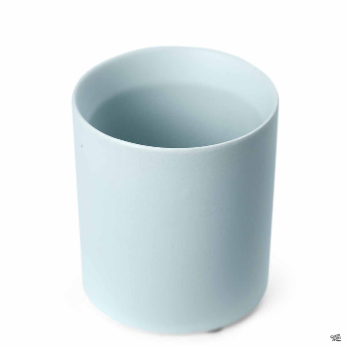 Cylinder Cache Pot 3 inch Light Blue